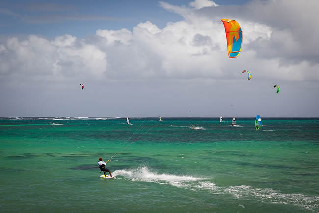 île maurice kitesurf