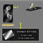 Comment redorer une plaque funéraire?
